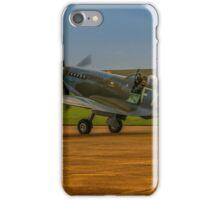 Spitfire HF Mk.IXe TD314 iPhone Case/Skin