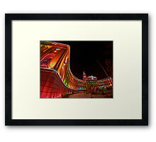 City and County Framed Print