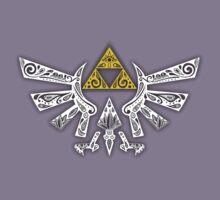 Zelda - Hyrule doodle Kids Tee