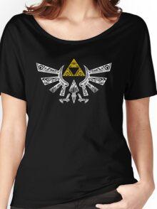 Zelda - Hyrule doodle Women's Relaxed Fit T-Shirt