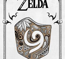 Zelda legend Kokiri shield by artetbe