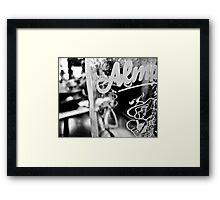 Almdudler Framed Print