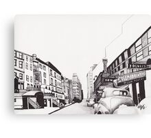 52nd Street by Kevin Dellinger Canvas Print