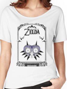 Zelda Legend - Majora's Mask doodle Women's Relaxed Fit T-Shirt