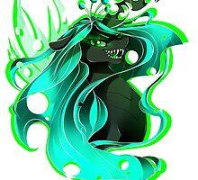 MLP: Queen Chrysalis by x0Kuja0x