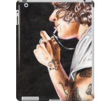 Harry & cross necklace. iPad Case/Skin