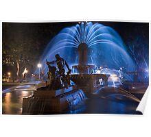 Archibald Fountain, Sydney Poster