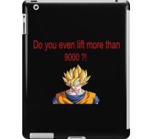 Do you even lift ? iPad Case/Skin