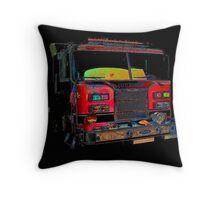 firetruck 2 Throw Pillow