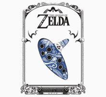 Zelda legend - Ocarina doodle One Piece - Short Sleeve