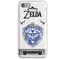 Zelda legend - Link Shield doodle iPhone Case/Skin