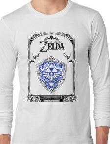 Zelda legend - Link Shield doodle Long Sleeve T-Shirt