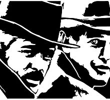 BUTCH CASSIDY and the SUNDANCE KID  by 53V3NH