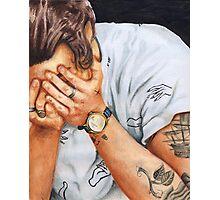 Harry Hands Photographic Print