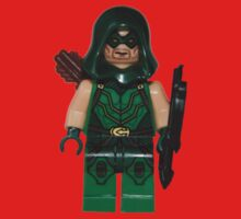 LEGO Green Arrow Baby Tee
