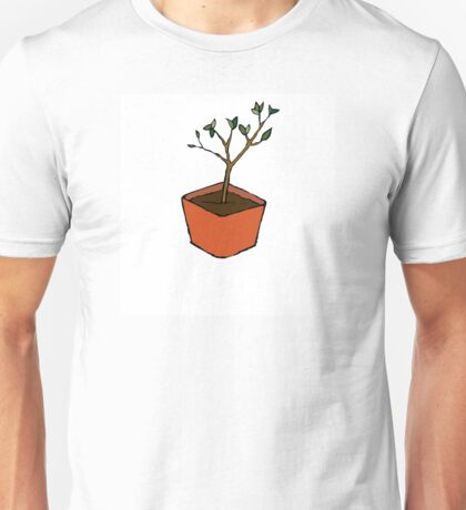 Growing Peony Unisex T-Shirt