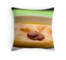 Pie Floater, South Australian Icon Throw Pillow