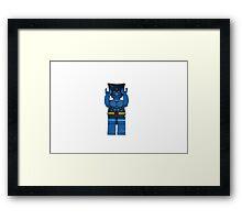 LEGO Beast Framed Print