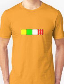 Tour de France Jerseys 2 Black Unisex T-Shirt