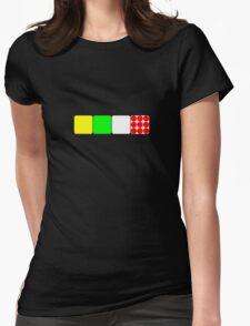 Tour de France Jerseys 2 Black Womens Fitted T-Shirt
