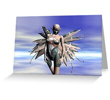 ALIEN ELF Greeting Card