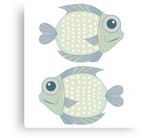 Two Cool Fish Canvas Print