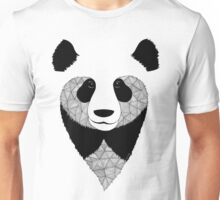 Panda black and white Unisex T-Shirt