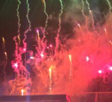 WWA Philly 8/13 Fireworks Sticker