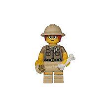 LEGO Paleontologist by jenni460