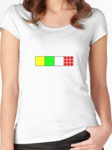 Tour de France Jerseys 2 TShirts Women's Fitted Scoop T-Shirt