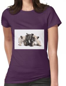 Frenchie Pals Womens Fitted T-Shirt