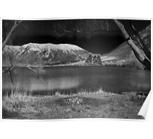 Lake Pearson - B&W Poster