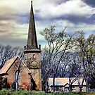 Historic church Campbell Town by liaimages