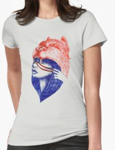 Warrior Spirit Womens Fitted T-Shirt