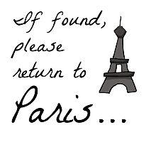 Return to Paris design by inspoalamode