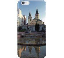 Žilina Skyline Reflections iPhone Case/Skin