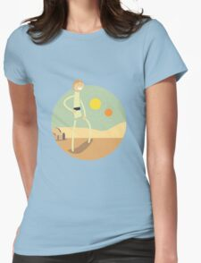 Double Sunset (Star Wars) Womens Fitted T-Shirt