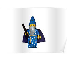LEGO Wizard Poster