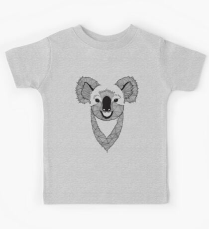 Koala black and white Kids Tee