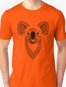 Koala black and white Unisex T-Shirt
