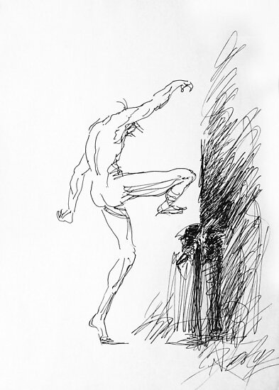 Dancer · Comedia del arte by Rainer Jacob