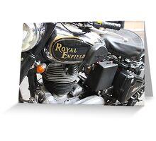 """Royal Enfield """"Bullet"""" Greeting Card"""