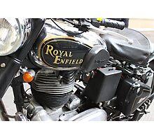 "Royal Enfield ""Bullet"" Photographic Print"