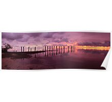 First Light Pano Poster