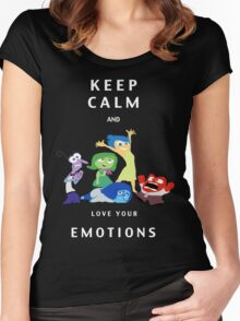 INSIDE OUT!  Women's Fitted Scoop T-Shirt