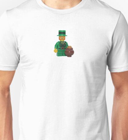 LEGO Leprechaun with a Pot of Gold Unisex T-Shirt