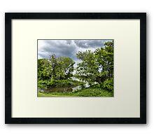 stormy saturday Framed Print