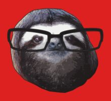 Hipster Sloth Kids Clothes