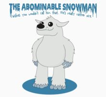 The Abominable Snowman  Kids Clothes