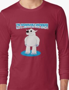 The Abominable Snowman  Long Sleeve T-Shirt